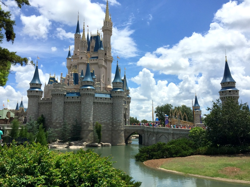 Castelo da Cinderela no Magic Kingdom, onde fica o restaurante Cinderella's Royal Table
